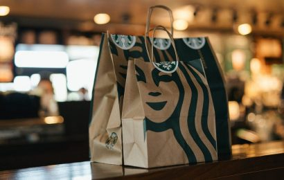 Starbucks' and Dunkin's rewards programs and mobile ordering businesses both grew in the last quarter