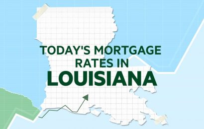 Today's mortgage and refinance rates in Louisiana