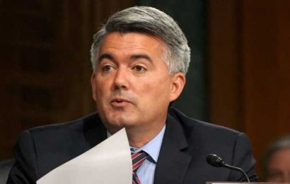 Fox News projects Republican Sen. Cory Gardner is out in Colorado