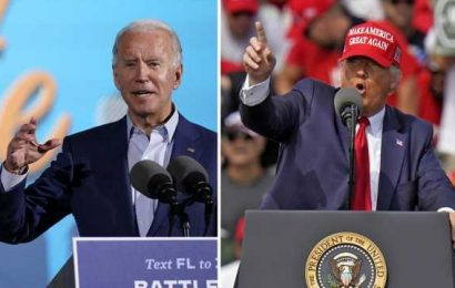 Trump, Biden camps duel over possibility of a winner being declared on Election Night