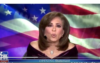 Fox News' Jeanine Pirro Rips 'Reptile' William Barr For Not Backing Trump's Election Lies