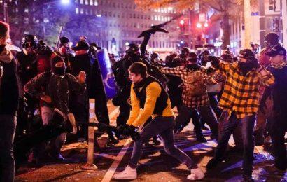 Pro-Trump Protests Decry Trump's Election Loss At Tense Protest In Washington