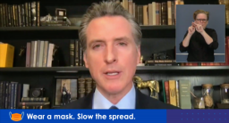 California Covid-19 Update: Newsom's Lockdown May Be Working; Daily New Case Numbers 40% Lower; Down For 5th Straight Day