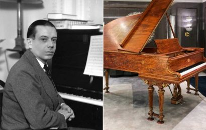 Cole Porter's famed piano raises charitable funds at Waldorf Astoria