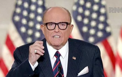 Rudy Giuliani Tests Positive for COVID-19: He's 'Getting Great Care and Feeling Well,' Son Says