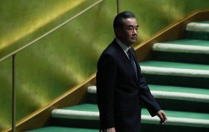 China's Wang Urges Better U.S. Ties as Biden's Term Nears