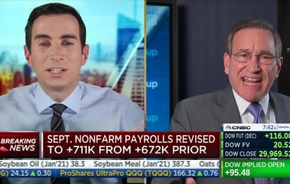 CNBC's Rick Santelli rants over virus restrictions: 'It's not science!'