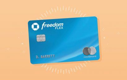 For Q1 of 2021, the Chase Freedom Flex and Chase Freedom cards will earn up to 5% back on internet, cable, phone, and streaming services and at wholesale clubs