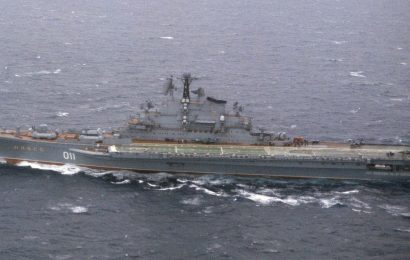 The Soviet Union is long gone, but its aircraft carriers live on