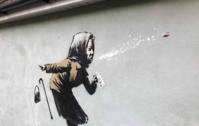 UK homeowner still selling property after Banksy mural appears: 'Hell of a shock'