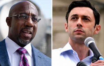 Democrats in Georgia Senate contests take in more than $200M