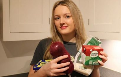 Savvy shopper shares how to make meals for less than £1 as she explains her meal plan