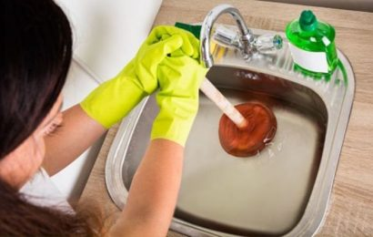 How to unblock a sink – the two easy steps