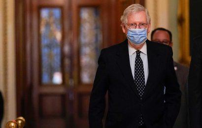 Sen. Mitch McConnell Won't Convene Senate This Week For Impeachment Trial