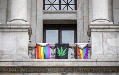 GOP Remove LGBTQ and Marijuana Flags, Defiant Democrat Flies Them Anyway