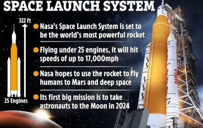 Nasa to test 'most powerful rocket ever built' TOMORROW – and it can reach speeds of 17,500mph