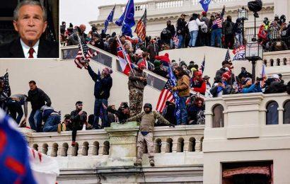 Former President George W. Bush Addresses 'Mayhem' at the U.S. Capitol: 'I Am Appalled'