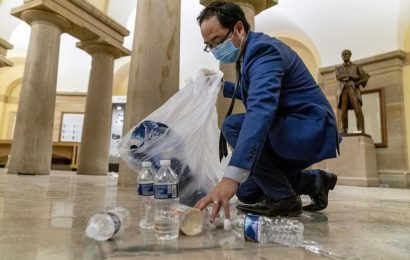 Rep. Andy Kim on Why He Helped Clean Up Debris After U.S. Capitol Riot: 'What Else Could I Do?'