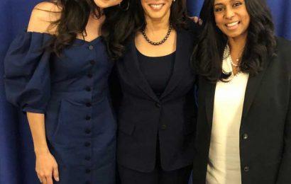 Meena Harris Explains How Her Mom Maya and Aunt Kamala Inspired Her Kids' Book Ambitious Girl