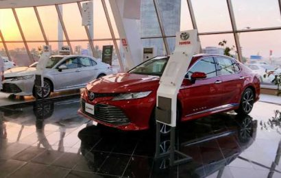 Auto sales in December saw double-digit rise