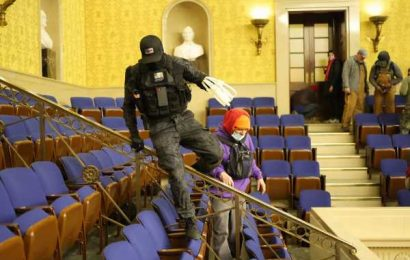 Man Seen in Senate Carrying Zip-Ties Among Those Charged in Riot