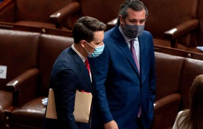 Senate Democrats Call for Ethics Probe Into Cruz, Hawley