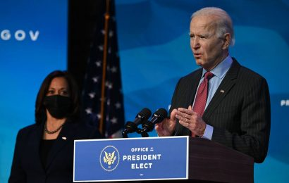 Biden Says His Inauguration Would Be Fastest Way to Remove Trump