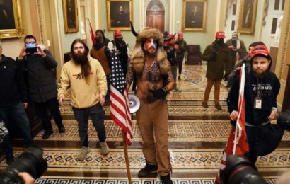 Man in Viking Garb Among Three Charged by U.S. in Capitol Riots