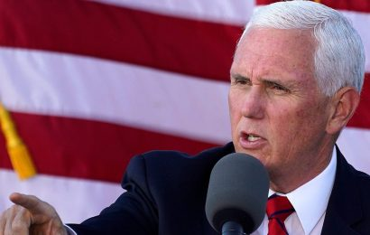 Mike Pence 'welcomes' the efforts of Republican lawmakers to challenge Biden's win, days before Congress is due to certify the election results
