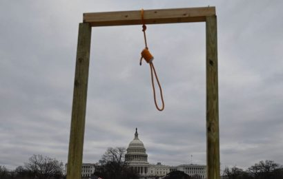 Nooses spotted as pro-Trump rioters spark chaos and lawlessness on Capitol Hill