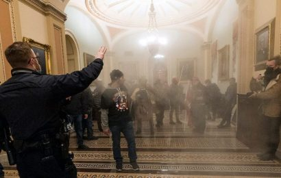 Members of the far-right militia group, the Oath Keepers, used Facebook Messenger during the Capitol siege to hunt for lawmakers, FBI says
