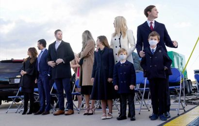 Trump's adult children see Twitter follower count rise after Biden inauguration
