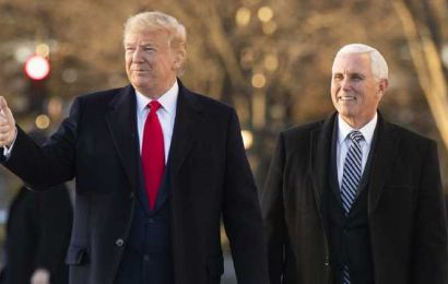 Trump puts pressure on Pence ahead of election showdown in Congress
