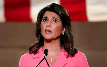 Haley tells GOP not to 'shy away' from Trump-era gains, but calls his recent conduct 'deeply disappointing'