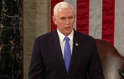 Pence 'proud' Trump WH avoided engaging in new war