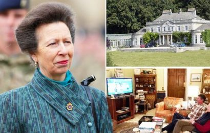 Gatcombe Park: Inside luxury royal property where Princess Anne is spending lockdown