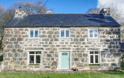 Beautiful Snowdonia farmhouse up for grabs in raffle at £5 a ticket