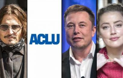 Johnny Depp Exercises Some Free Speech With ACLU & Elon Musk Subpoenaed In $50M Amber Heard Case