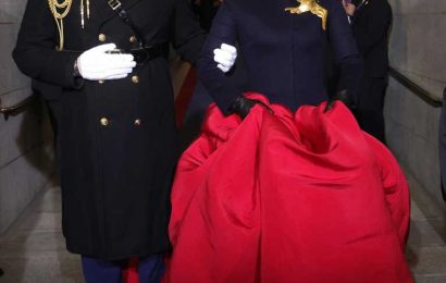 Marine Who Escorted Lady Gaga at the Inauguration Shares Humorous & Heartfelt Backstory