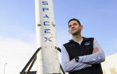 Meet the billionaire commanding SpaceX's all-civilian mission—he dropped out of high school to start his business