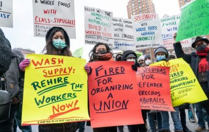 'We deserve more': an Amazon warehouse's high-stakes union drive
