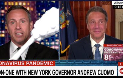 CNN claims it reinstated 'rule' barring Chris Cuomo from covering brother as nursing home scandal grows