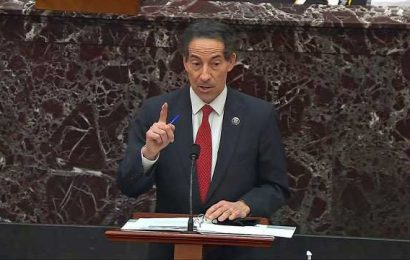 Trump impeachment manager Raskin delivers tearful speech on family's experience at Capitol riot