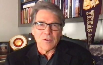 Rick Perry says Biden can't fix Texas power crisis with more regulations