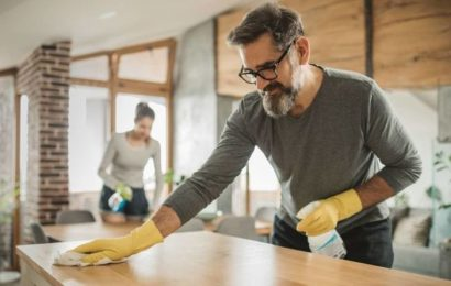 How to clean your home quickly – nine tips to clean your house in HALF the time