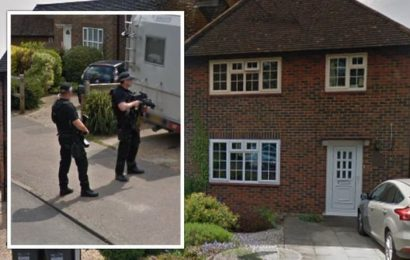 Property listed on Rightmove leaves Twitter users stunned as images emerge of armed police