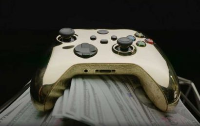 World's most expensive Xbox controller covered with solid GOLD costs £80,000