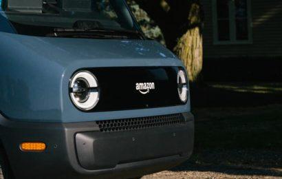 Amazon begins road testing Rivian electric delivery vans in San Francisco