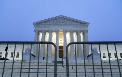 All Supreme Court justices have been vaccinated against Covid