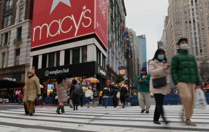 Macy's CEO says company is already benefiting from vaccinations and stimulus checks